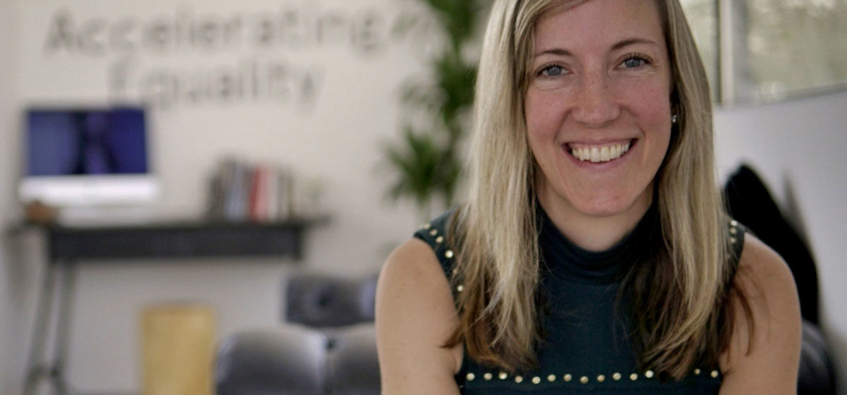 Sarah Bacon, CEO and Co-Founder of We Share Property. Women In Tech article on Women@Work.